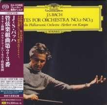 Johann Sebastian Bach (1685-1750): Orchestersuiten Nr.2 & 3 (SHM-SACD), Super Audio CD Non-Hybrid