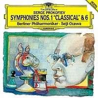 Serge Prokofieff (1891-1953): Symphonien Nr.1 & 6, CD