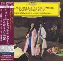 "Wolfgang Amadeus Mozart (1756-1791): Serenade Nr.13 ""Kl.Nachtmusik"" (SHM-SACD), Super Audio CD Non-Hybrid"