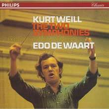 Kurt Weill (1900-1950): Symphonien Nr.1 & 2 (SHM-CD), CD