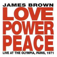 James Brown: Love Power Peace: Live At The Olympia, Paris, 1971, CD