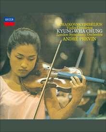 Peter Iljitsch Tschaikowsky (1840-1893): Violinkonzert op.35, Blu-ray Audio