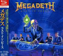 Megadeth: Rust In Peace (SHM-CD), CD
