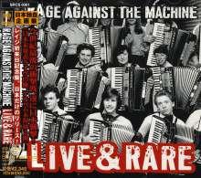 Rage Against The Machine: Live & Rare, CD
