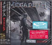 Megadeth: Dystopia + 1 (SHM-CD), CD