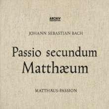 Johann Sebastian Bach (1685-1750): Matthäus-Passion BWV 244 (SHM-SACD), 3 SACD Non-Hybrids