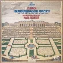 Johann Sebastian Bach (1685-1750): Brandenburgische Konzerte Nr.4-6 (SHM-SACD), Super Audio CD Non-Hybrid