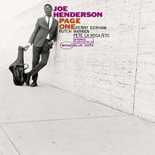 Joe Henderson (1937-2001): Page One (Platinum SHM-CD) (Papersleeve), CD