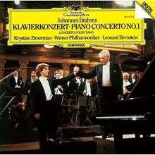 Johannes Brahms (1833-1897): Klavierkonzert Nr.1 (SHM-CD), CD