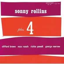 Sonny Rollins (geb. 1930): Plus 4 (SHM-CD), CD