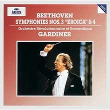 Ludwig van Beethoven (1770-1827): Symphonien Nr.3 & 4 (SHM-CD), CD