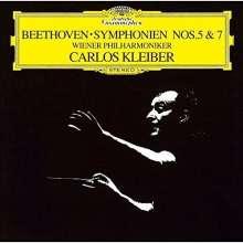 Ludwig van Beethoven (1770-1827): Symphonien Nr.5 & 7 (SHM-CD), CD