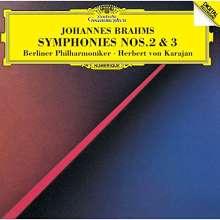 Johannes Brahms (1833-1897): Symphonien Nr.2 & 3 (SHM-CD), CD