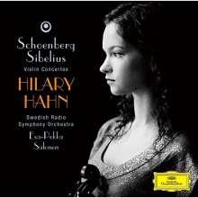 Hilary Hahn spielt Violinkonzerte (SHM-CD), CD