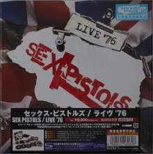 Sex Pistols: Live '76 (4 SHM-CDs), 4 CDs