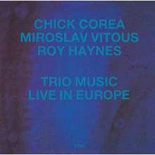 Chick Corea (geb. 1941): Trio Music: Live In Europe (SHM-CD), CD