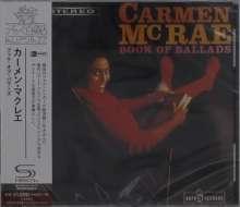 Carmen McRae (1920-1994): Book Of Ballads (SHM-CD), CD