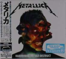 Metallica: Hardwired… To Self-Destruct (2 SHM-CD) (Digipack), 2 CDs