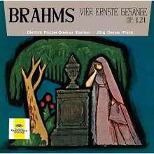 Johannes Brahms (1833-1897): Vier ernste Gesänge op.121 (SHM-CD), CD