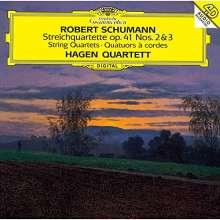Robert Schumann (1810-1856): Streichquartette Nr.2 & 3 (SHM-CD), CD