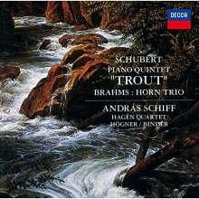 """Franz Schubert (1797-1828): Klavierquintett D.667 """"Forellenquintett"""" (SHM-CD), CD"""