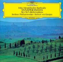 Felix Mendelssohn Bartholdy (1809-1847): Symphonien Nr.1 & 5 (Ultimate High Quality CD), CD