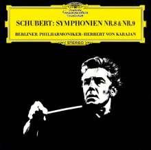 Franz Schubert (1797-1828): Symphonien Nr.8 & 9 (Ultimate High Quality-CD), CD