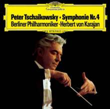 Peter Iljitsch Tschaikowsky (1840-1893): Symphonie Nr.4 (Ultimate High Quality CD), CD