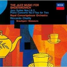 Dmitri Schostakowitsch (1906-1975): Klavierkonzert Nr.1 für Klavier & Trompete (SHM-CD), CD