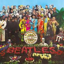 The Beatles: Sgt. Pepper's Lonely Hearts Club Band (50th-Anniversary-Edition) (4 SHM-CD + BR + DVD), 4 CDs