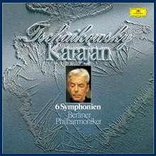 Peter Iljitsch Tschaikowsky (1840-1893): Symphonien Nr.1-6 (SHM-SACD), 3 Super Audio CDs Non-Hybrid