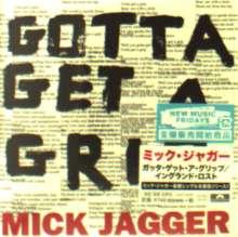 Mick Jagger: Gotta Get A Grip/England Lost, Maxi-CD