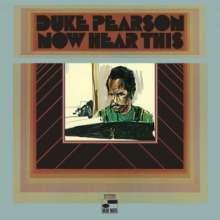 Duke Pearson (1932-1980): Now Hear This (SHM-CD), CD