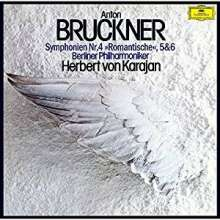 Anton Bruckner (1824-1896): Symphonien Nr.4-6, 3 SACD Non-Hybrids