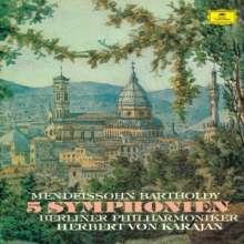 Felix Mendelssohn Bartholdy (1809-1847): Symphonien Nr.1-5, 2 Super Audio CDs Non-Hybrid