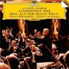 Antonin Dvorak (1841-1904): Symphonien Nr.8 & 9 (Ultimate High Quality CD), CD