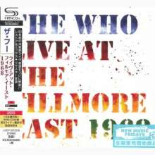 The Who: Live At The Fillmore East 1968 (2 SHM-CD) (Digipack), 2 CDs