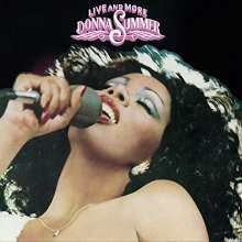 Donna Summer: Live And More, CD