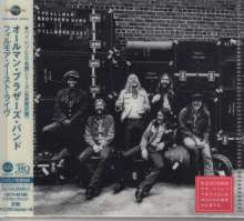 The Allman Brothers Band: At Fillmore East (UHQ-CD/MQA-CD) (Reissue) (Limited-Edition), CD