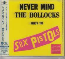 Sex Pistols: Never Mind The Bollocks Here's The Sex Pistols (UHQ-CD/MQA-CD) (Reissue) (Limited-Edition), CD
