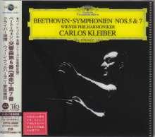 Ludwig van Beethoven (1770-1827): Symphonien Nr.5 & 7 (Ultimate High Quality CD), CD