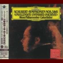 "Franz Schubert (1797-1828): Symphonien Nr.3 & 8 (""Unvollendete"") (Ultimate High Quality CD), CD"