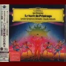 Igor Strawinsky (1882-1971): Le Sacre du Printemps (Ultimate High Quality CD), CD