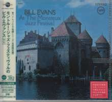 Bill Evans (Piano) (1929-1980): At The Montreux Jazz Festival (UHQ-CD/MQA-CD) (Reissue) (Limited-Edition), CD