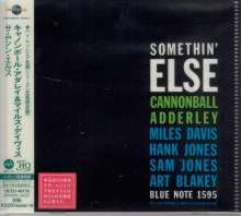 Cannonball Adderley (1928-1975): Somethin' Else (UHQ-CD/MQA-CD) (Reissue) (Limited-Edition), CD