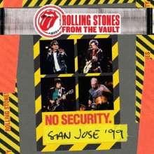 The Rolling Stones: From The Vault: No Security. San Jose '99 +Bonus (2 SHM-CD +DVD), 2 CDs