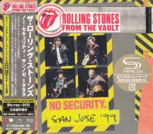 The Rolling Stones: From The Vault: No Security. San Jose '99 +Bonus (Blu-ray + 2 SHM-CD) (CD-Digipack), 2 CDs