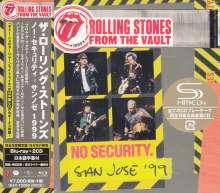 The Rolling Stones: From The Vault: No Security. San Jose '99 +Bonus (Blu-ray + 2 SHM-CD) (CD-Digipack), 3 CDs