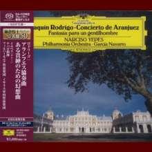Joaquin Rodrigo (1901-1999): Concierto de Aranjuez für Gitarre & Orchester (SHM-SACD), SACD Non-Hybrid