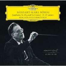 Wolfgang Amadeus Mozart (1756-1791): Symphonien Nr.40 & 41 (SHM-SACD), Super Audio CD Non-Hybrid